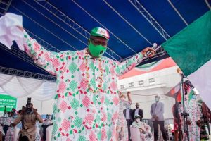 Obaseki at the flag off of his campaign  300x200 - Obaseki's Victory A Triumph Of Justice – PDP