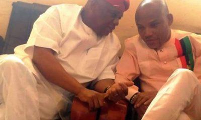 Nnamdi Kanu Warns Orji Uzor Kalu On Biafra Agitation, Reveals When He Will Return To Nigeria