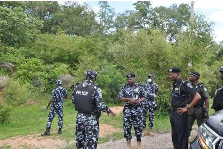 Police Engage Bandits in gun battle
