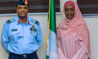 Buhari's Rumoured Mistress Sadiya Farouq 'Marries' Chief of Air Staff
