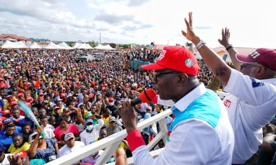 Ondo 2020 Election: Sanwo-Olu Canvasses Votes For Akeredolu