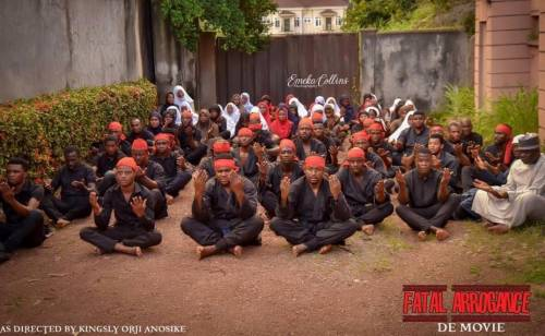 WhatsApp Image 2020 09 10 at 1.29.49 PM1 - Nigerian Army Sponsors Movie Production In Enugu Aimed At Depicting Shiites As Terrorists (Photos)