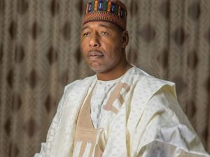babagana umara zulum 300x225 - #EndSARS: Lagos May Take Many Years To Recover – Zulum