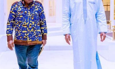 Buhari Meets Ghana President Akufo-Addo In Aso Villa