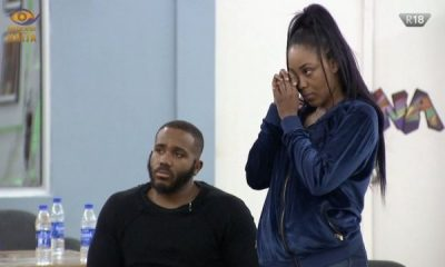 BBNaija: Erica Ignores Kiddwaya's Father, Terry Waya
