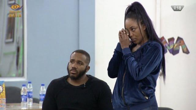 BBNaija: Erica Ignores Kiddwaya's Father, Terry Waya