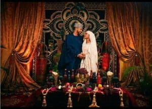hanan wed3 300x215 - Buhari's Daughter, Marries Her Love In A Beautiful Private Wedding Ceremony