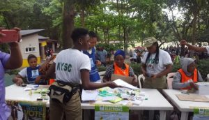 inec NYSC staff 750x430 1 300x172 - #EdoDecides: INEC Official Caught Selling Votes Arrested