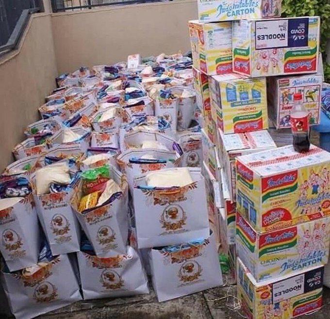 20201030 161753 - Nigerians Accuse Lagos Lawmaker, Alli-Macaulay, Of Using COVID-19 Palliatives As Birthday Gift
