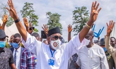 JUST IN: INEC Declares Governor Akeredolu Winner Of #OndoDecides2020