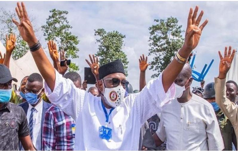 JUST IN: INEC Declares Governor Akeredolu Winner Of #OndoDecides2020