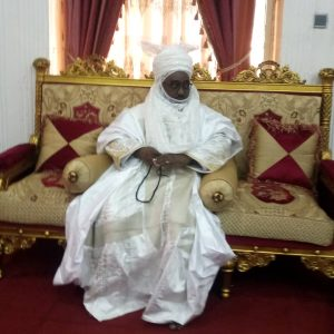 Ambassador Ahmad Nuhu Bamalli inside Zazzaus palace photo Aliyu Babankarfi 300x300 - Court Rules In Favour Of Bamalli As Emir Of Zazzau