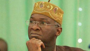Babatunde Fashola 300x169 - 'Inspector Fashola' – Nigerians React As Minister Discovers Camera At Lekki Toll Gate