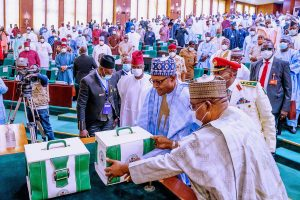 Buhari 2021 budget 300x200 - Breaking: National Assembly Transmits N13.5tn Budget To Buhari
