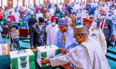 Breakdown Of 2021 Budget Presented By President Buhari