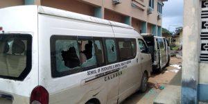 ElGfqK5X0AADJd0 300x150 - Hoodlums Attack, Burn WAEC Office, Senator Ndoma-Egba's House In Calabar (Videos)