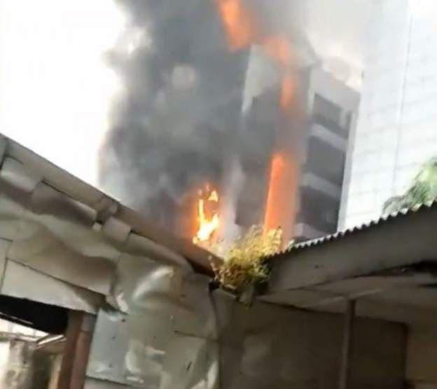 Headquarters of the Nigerian Ports Authority - Important Places Burnt By Hoodlums In Lagos