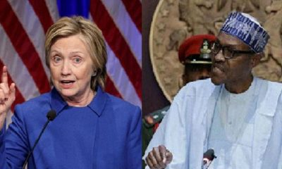 Stop Killing Young #EndSARS Protesters- Hillary Clinton Warns Buhari, Soldiers