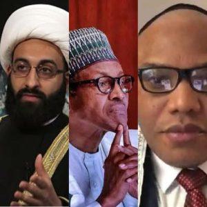 Imam of Peace Buhari and Nnamdi Kanu 300x300 - Biafra: Nnamdi Kanu Begs Imam Of Peace For Help After #EndSARS Support
