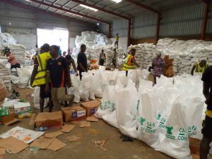 Lagos CACOVID warehouse 300x225 - Lagos State Govt Reacts To Invasion Of COVID-19 Palliative Warehouse
