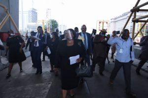 Lagos panel at Lekki toll gate 300x200 - Lekki Shootings: Forensic Audit Will Take 21 Days – Panel