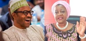 Lauretta Onochie and President Buhari 300x146 - Presidential Media Aide Hopes People Would Stop Reporting Nigeria To America After Capitol Invasion