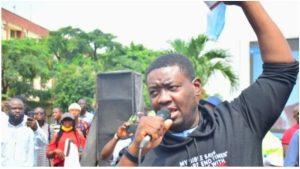 Leke Adeboye 300x169 - Adeboye Joins #EndSARS Protest In Lagos