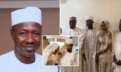 Suspended EFCC Chairman Magu 'Disgraced' At Atiku And Ribadu's Children Wedding