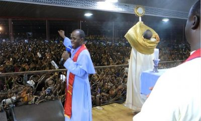 Father Mbaka's Adoration Ground Not On Fire