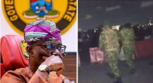 Nigerian Army and Sanwo olu 300x163 - BREAKING: Sanwo-Olu Right To Invite Military On Lekki #EndSARS Protesters – Army