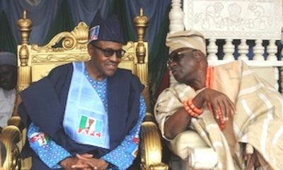 What President Buhari Told Oba Of Lagos On His 77th Birthday