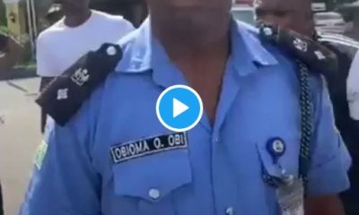 Police Officer Obioma O. Obi Assaults Unarmed #EndSARS Protesters (Video)
