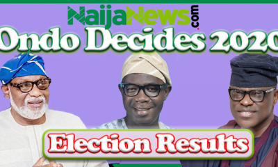 #OndoDecides2020: Ondo Election Results From Different LGAs