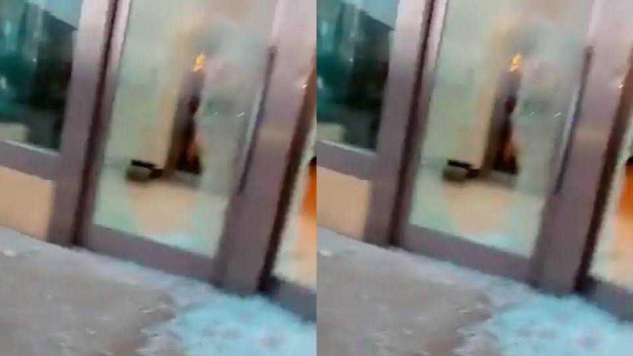 Oriental Hotel - Important Places Burnt By Hoodlums In Lagos