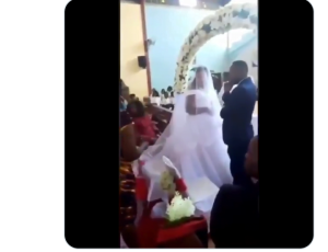 Screenshot 20201031 145057 2 300x230 - Drama As Woman Disrupts Wedding Ceremony, Says Groom Is Her Husband (Video)