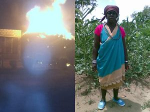 South African Man set on fire 300x225 - Mob Set Man On Fire For Allegedly Responsible For Wife's Death