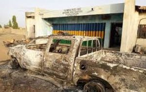 BREAKING: Again, Gunmen Attack Imo police station, Frees Detainees