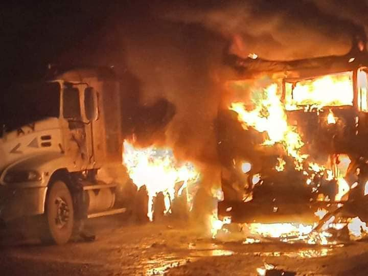 JUST IN: Diesel Tanker Explodes In Ogun