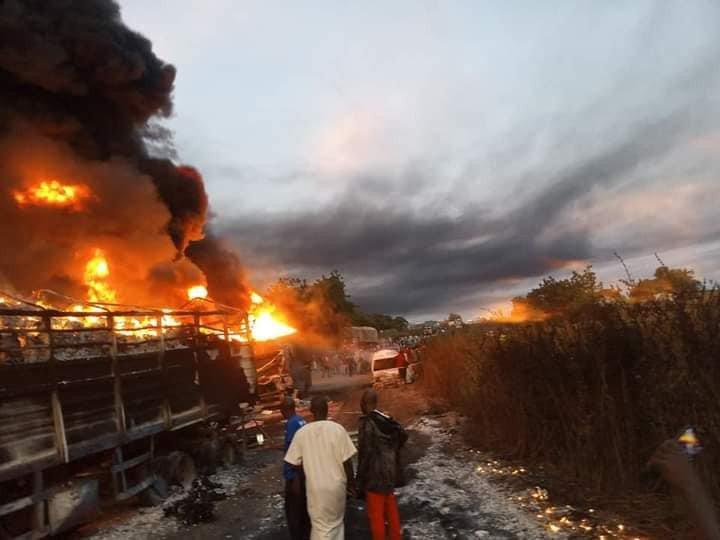 Kwara tanker fire kills six, razes 30 buildings