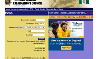 WAEC Result: 7 Simple Steps To Check 2020 WAEC Result