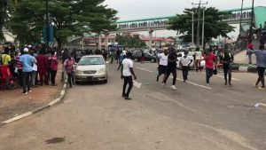 alausa 1024x576 1 300x169 - #EndSARS Protesters Attacked In Osun, One Injured