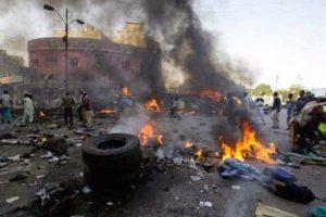 bomb blast 300x200 - Car Bomb Attack Targeted At Police Headquarters Kill 12 People