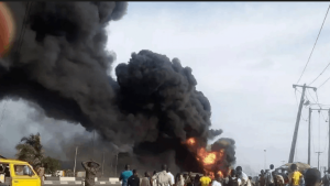 explosion 1024x576 1 300x169 - Two Killed As Explosion Rocks Oyigbo Rivers State