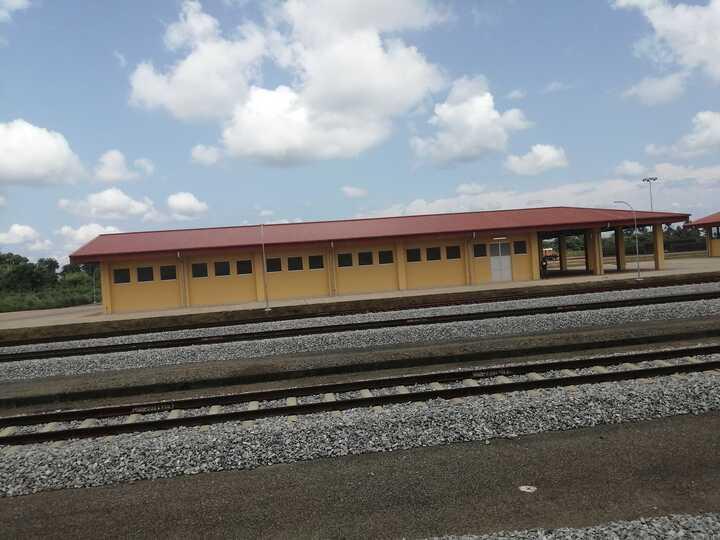Buhari has commissioned the Warri-Itakpe railway project.