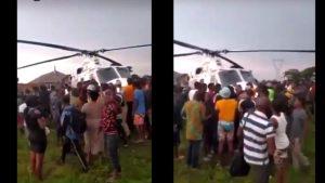 mnWdouJv 1024x576 1 300x169 - #EndSARS: Edo People Seize Helicopter In Oloku (Video)