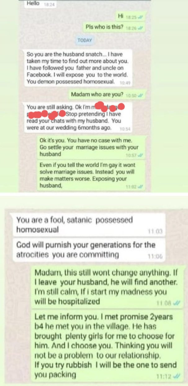 5face80069c19 - Leaked Chat: Nigerian Woman Challenges Her Husband's Gay Lover