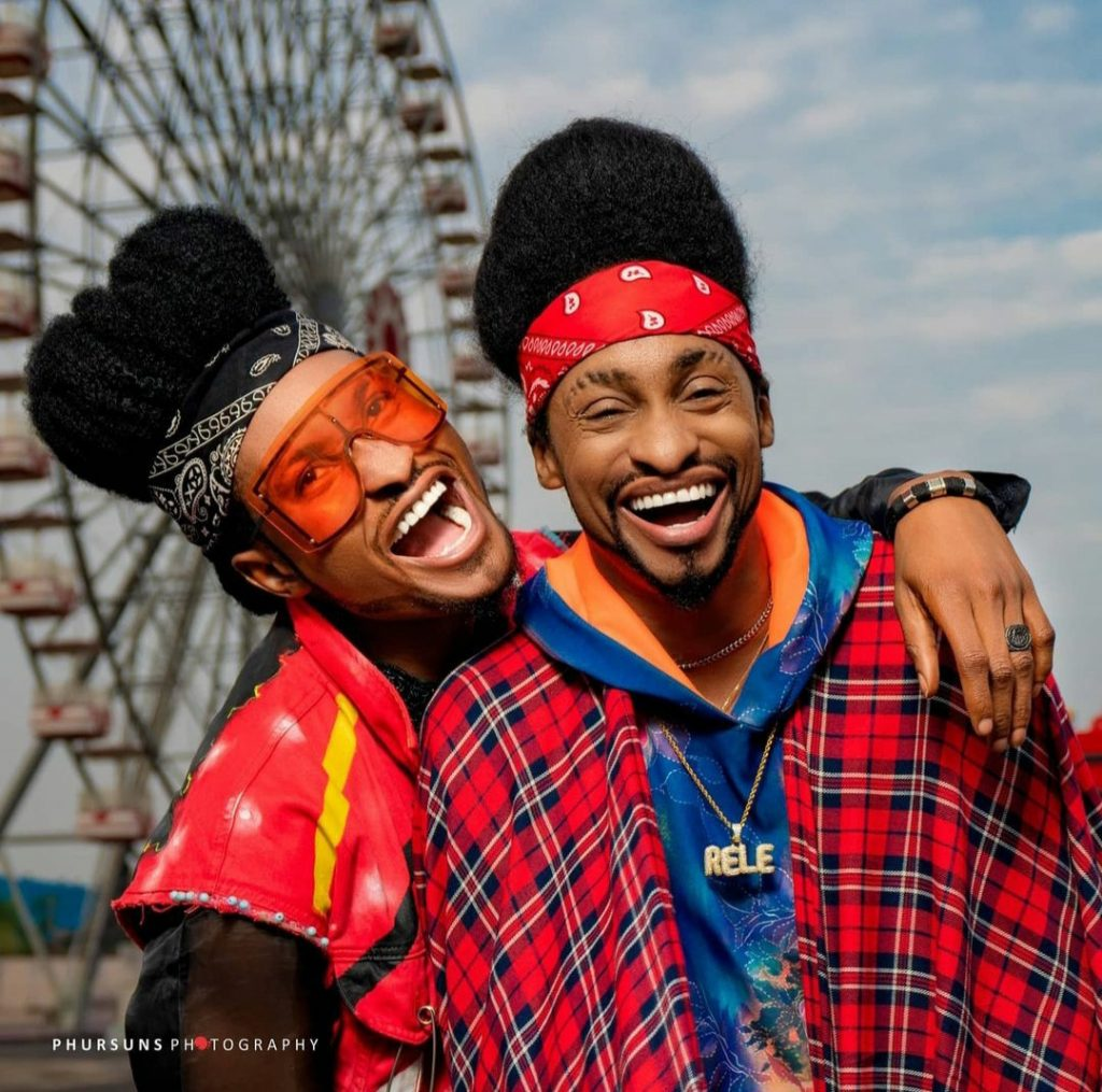 5fba50d190176 1024x1015 - Photos: Check Out Media Personality Denrele's Look-Alike, You Can Hardly Tell The Difference