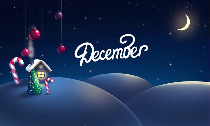 All the Happy New Month of December Messages, Wishes You Need