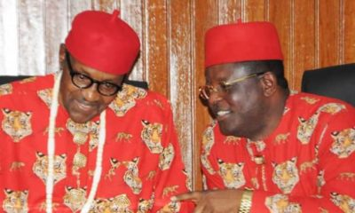 Buhari Breaks Silence On Umahi's Defection To APC, Tells Him What To Do
