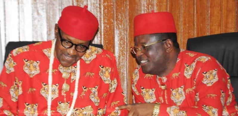 Buhari Breaks Silence On Umahi's Defection To APC, Tells Him What To Do